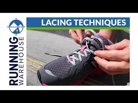 How To Lace Running Shoes For Your Best Fit and Improved Comfort - http://www.nailtech6.com/how-to-lace-running-shoes-for-your-best-fit-and-improved-comfort/