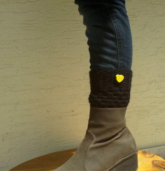 Boot cuffs crochet boot socks boot toppers pick by KnitterPrincess, $16.50