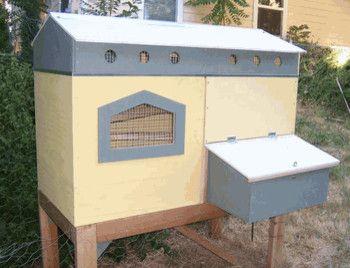 Classic Urban Chicken Coop eclectic pet accessories