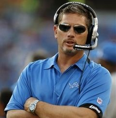 Jim Schwartz - Detroit Lions.  LOVE ME SOME JIM SCHWARTZ!!!
