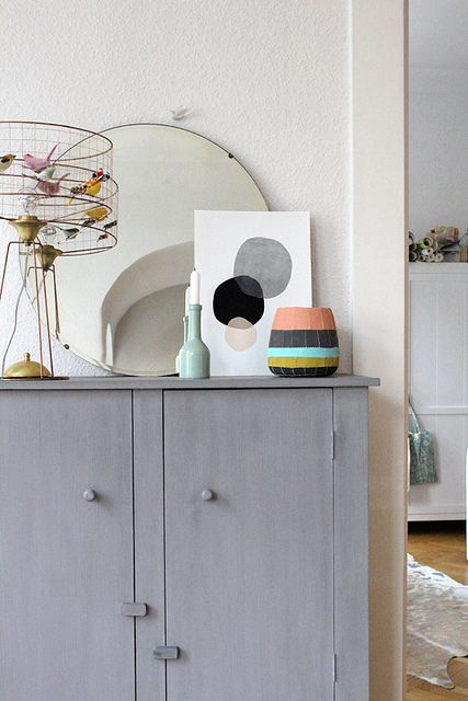 Kerry Layton art in my home | decor8
