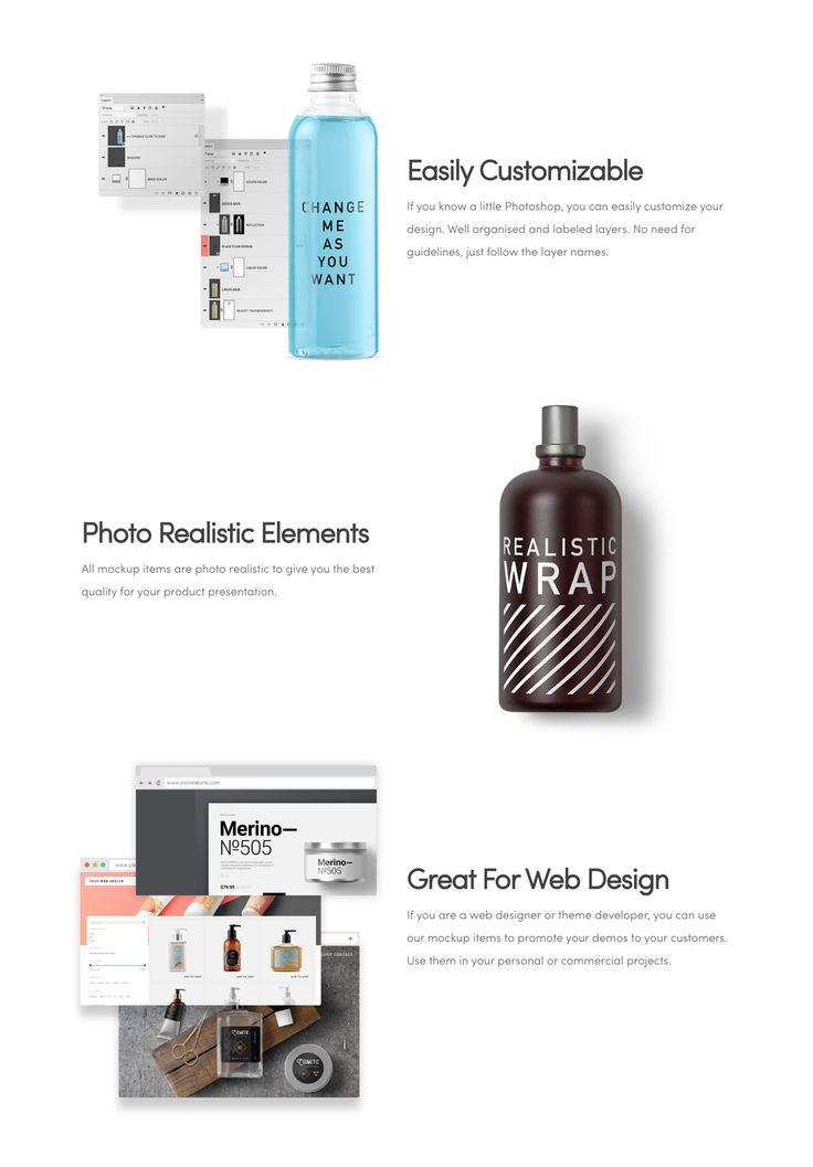 Cosmetic Packaging Branding MockUp  by Mockup Zone on @creativemarket