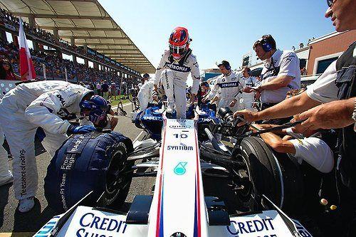 Robert Kubica BMW Sauber 2007