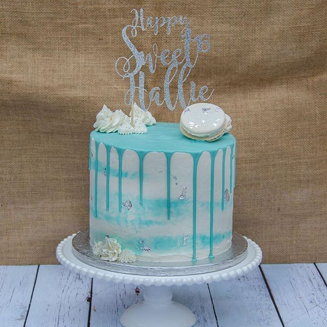 Another Sweet Drip Cake For A Sweet 16 Birthday This One