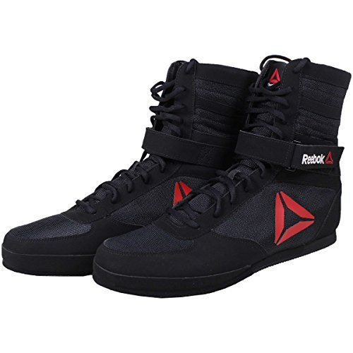 Reebok Boxing Boot - Black - 10 - http://www.exercisejoy.com/reebok-boxing-boot-black-10/boxing/