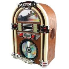 Hq HQ-JB100 Jukebox Mit CD-Player (FM Tuner, 40 Watt)   Preis: EUR 91,00  http://www.amazon.de/gp/product/B0033GT522/ref=as_li_ss_tl?ie=UTF8=1638=19454=B0033GT522=as2=kostmede-21