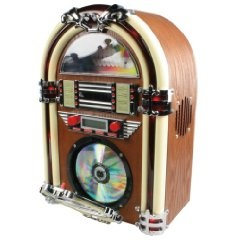 Hq HQ-JB100 Jukebox Mit CD-Player (FM Tuner, 40 Watt)   Preis: 	EUR 91,00  http://www.amazon.de/gp/product/B0033GT522/ref=as_li_ss_tl?ie=UTF8=1638=19454=B0033GT522=as2=kostmede-21