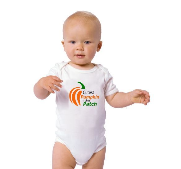 Cutest Pumpkin in the Patch Baby Onesie - AmaysingGifts.com