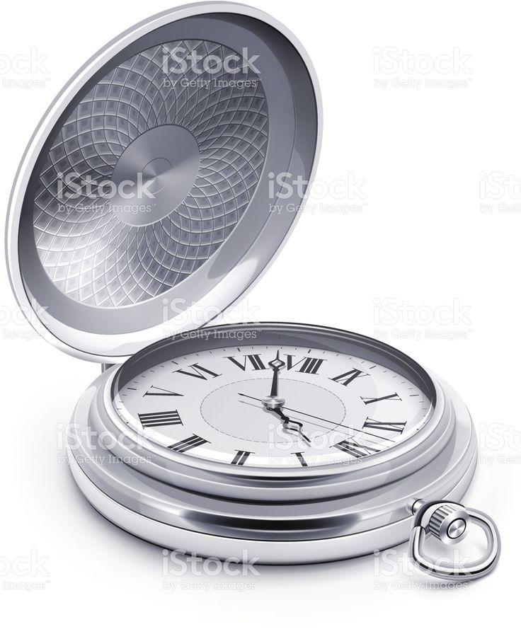 Карманные часы Сток Вектор Стоковая фотография