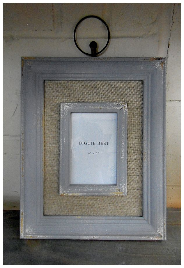 A Great Biggie Best Beach House Rustic Double Photo Frame