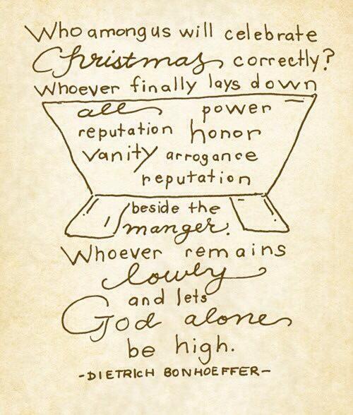 Bonhoeffer on Christmas