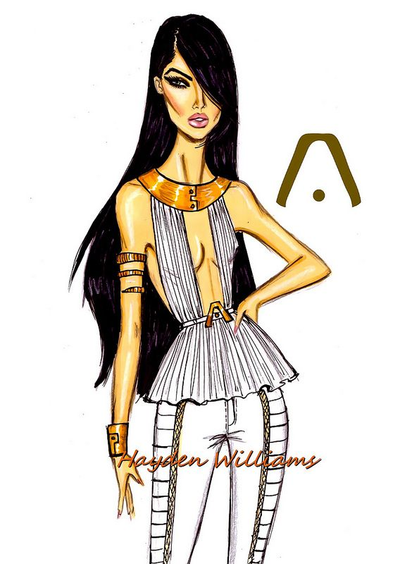 Hayden Williams Fashion Illustrations: Photo PANTALON CUERO MATELASEADO Y GALÓN IDENTIDAD MARCA - HIPPIE GLAM