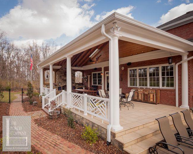 746 best back porch ideas images on pinterest | porch ideas, patio ... - Back Porch Patio Ideas