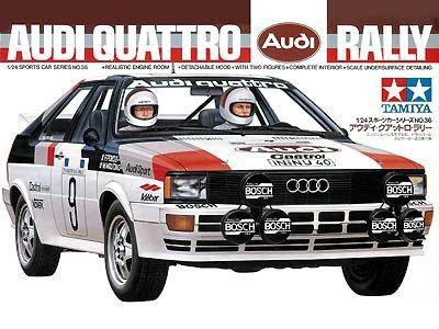 Boxart Audi Quattro Rally 24036 Tamiya