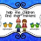 FREEBIE!  Synonyms and Antonyms Sort  Help the Children Find Their Mittens  This is a fun way for your students to practice sorting synonyms antony...