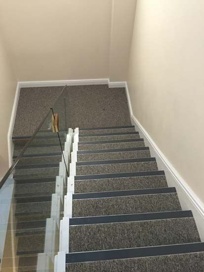 Best Grey Stair Carpet Nosings Images On Pinterest Carpets
