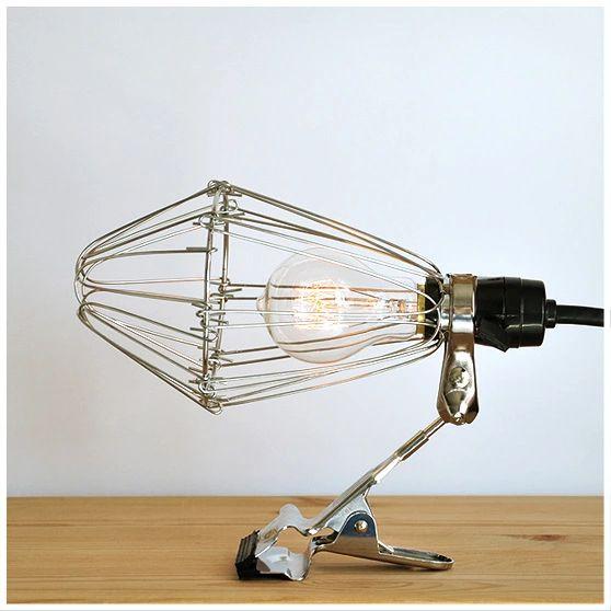 industrial loft style vintage desk clip lamp table lamp design art convenient E27 AC110-240v without bulbs