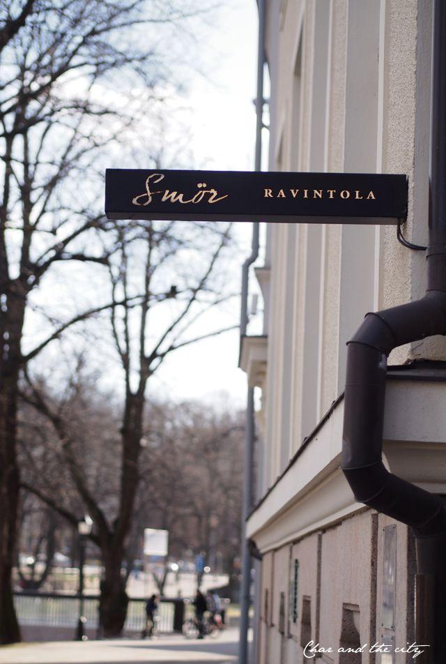 Restaurant Smör in Turku, Finland