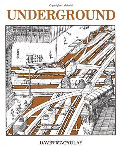Underground David Macaulay 9780395340653 Amazon Books
