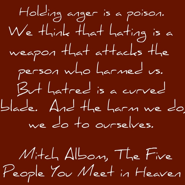 quotes about five people you meet in heaven