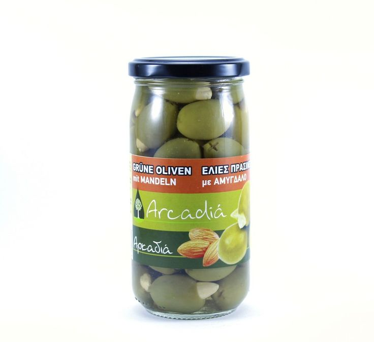 ''ARKADIA'' Green Olives stuffed with Almond