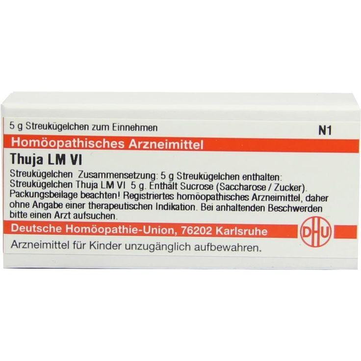 LM THUJA VI Globuli:   Packungsinhalt: 5 g Globuli PZN: 02660189 Hersteller: DHU-Arzneimittel GmbH & Co. KG Preis: 7,80 EUR inkl. 19 %…