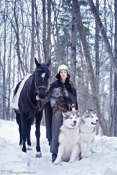 Yar and Thor, Alaskan Malamutes | Photo Huskies and Malamutes
