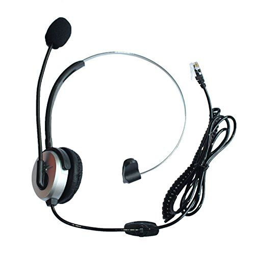 Best price on GoodQbuy® Hands-free Call Center Headset Headphones Ear Phone Desk Telephone with Comfort Fit Headband Noice Cancelling - Silver  See details here: http://topofficeshop.com/product/goodqbuy-hands-free-call-center-headset-headphones-ear-phone-desk-telephone-with-comfort-fit-headband-noice-cancelling-silver/    Truly the best deal for the inexpensive GoodQbuy® Hands-free Call Center Headset Headphones Ear Phone Desk Telephone with Comfort Fit Headband Noice Cancelling - Silver…