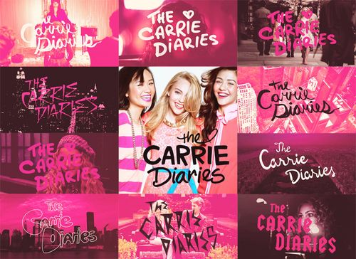 The Carrie Diaries love the title scene!!