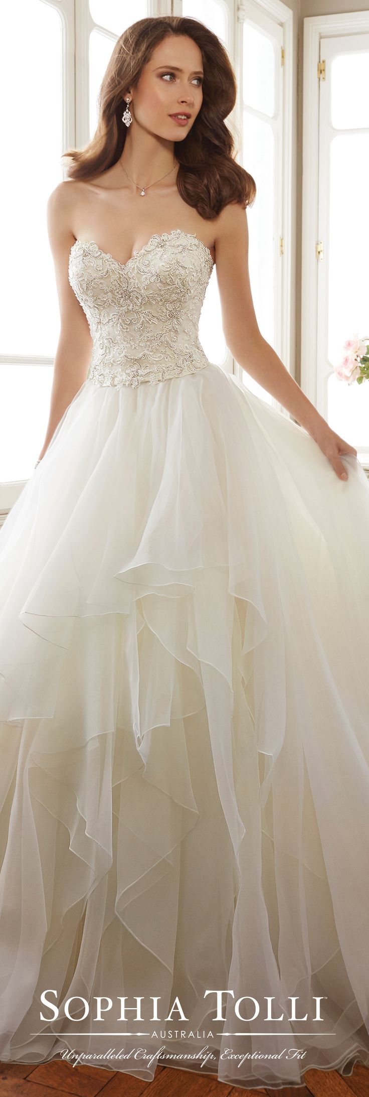 Great Sophia Tolli Wedding Gowns Y Tropez