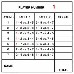 Card Tallies to Print | wonderful and memorable way to play bridge with your friends! On the ...