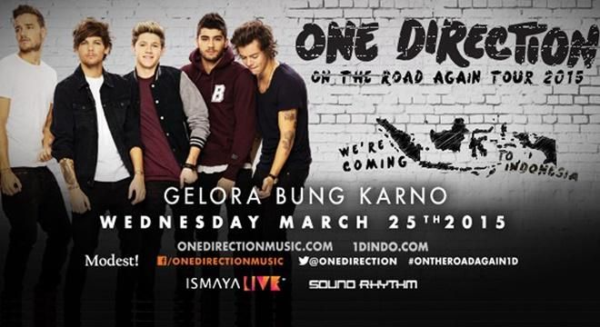 Covesia.com - Konser One Direction yang akan digelar pada Rabu (25/3/2015) di Gelora Bung Karno (GBK) itu, sempat menghebohkan para Netizen karena membuat...