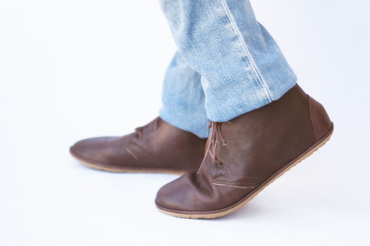 Image of Lion in Brown - Men's Handmade Leather boots - CUSTOM FIT