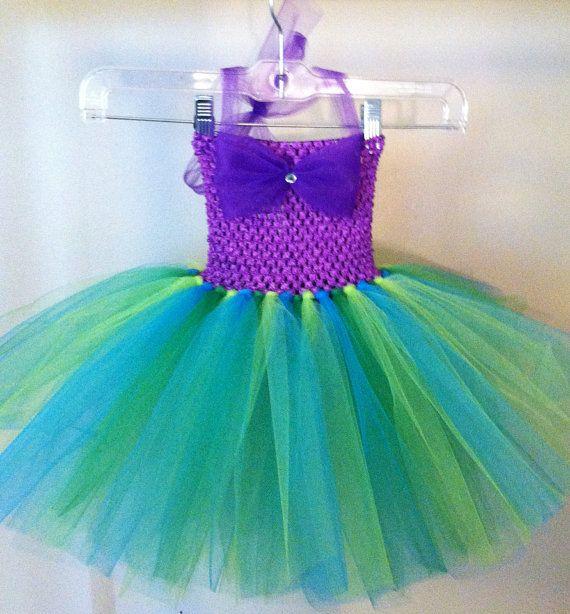 Hey, I found this really awesome Etsy listing at https://www.etsy.com/listing/158234641/ariel-tutu-dress-newborn-4-yo