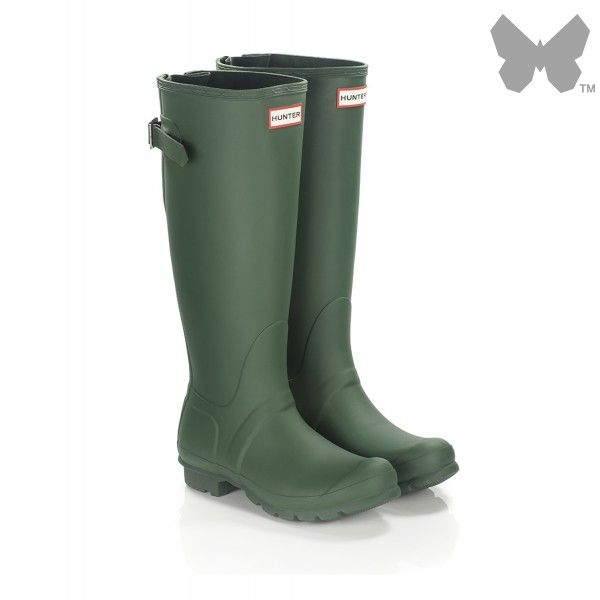 Hunter Women's Original Back Adjustable Wellington Boots ...