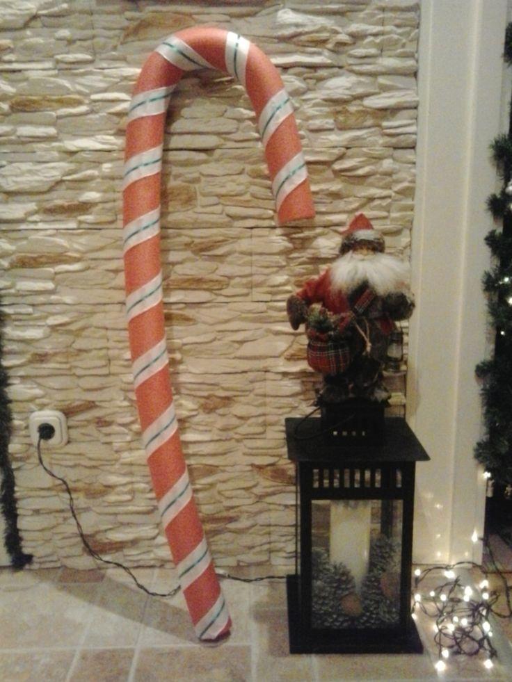 DIY - giant christmas candy