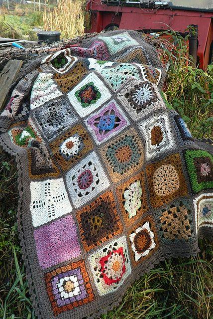 Ravelry: irishkiwi's crochet afghan