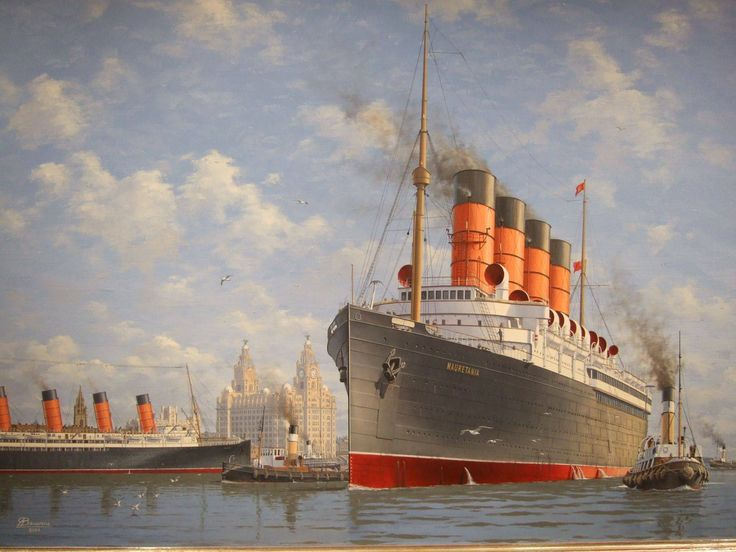 RMS Mauritania and RMS Lusitania