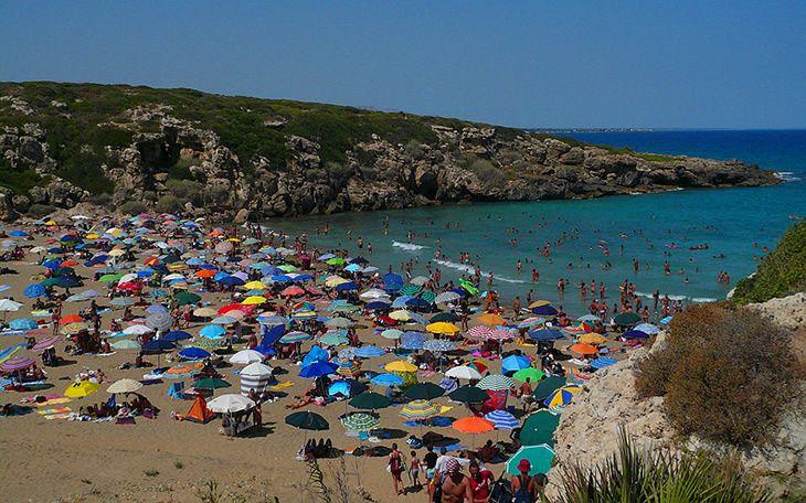 Fotografia Italia in camper, viaggio in Sicilia: Vendicari e Marzamemi, Oasi Faunistica di Vendicari, Spiaggia Calamosche