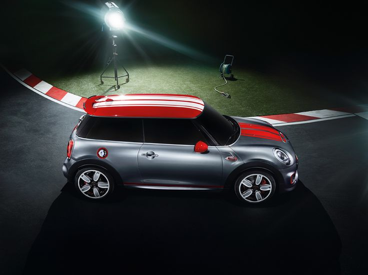 based on the latest-generation MINI cooper which launched last month in london, the specially tuned go-kart-like ride features exclusive body paintwork, signature red color accents throughout, custom aerodynamic components and bespoke 18-inch alloy wheels.