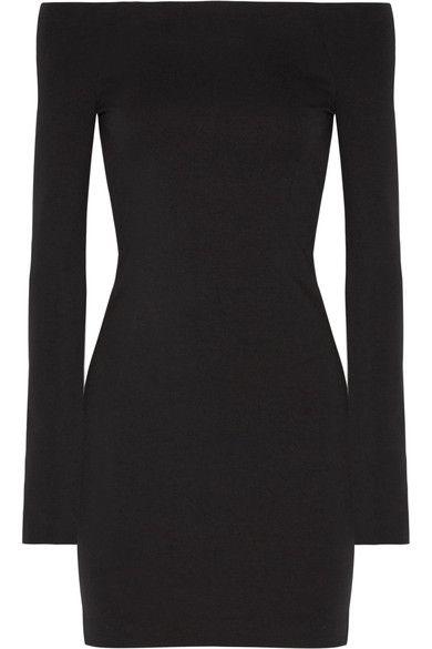 The Row | Hunting stretch modal-blend mini dress | NET-A-PORTER.COM