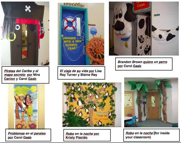 Spanish Teacher Classroom Decorations : Best tprs robo en la noche images on pinterest