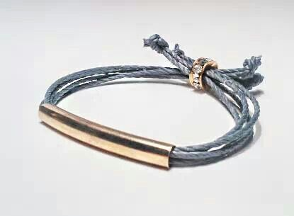 Gold Kaia Bracelet..  We love it.
