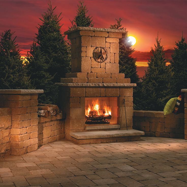17 Best Ideas About Outdoor Wood Burning Fireplace On