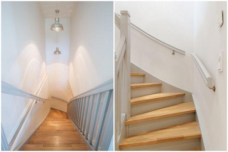 Lys og fin trappeoppgang