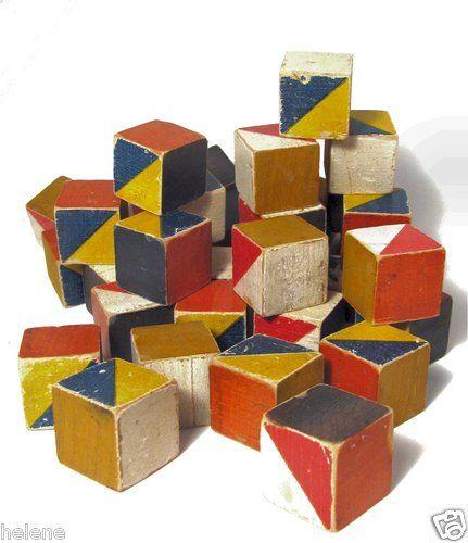Kurt Naef Bauhaus Modern Wooden Building Blocks | eBay listing by Helene