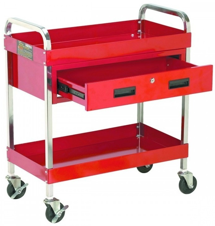 Harbor Freight Utility Cart >> Transformation: from Harbor Freight tool cart to awesome diaper changing table w/organizing ...
