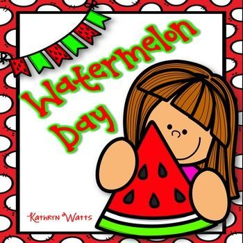 Watermelon Day ActivitiesYour students will have so much fun learning about watermelons. Heres a pack of activities for a fun filled Watermelon Day. There are 15 activities to choose from. Students can choose which activities they want to complete and rotate through them in one day.