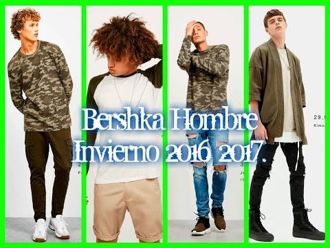 Bershka Hombre Invierno 2016 2017