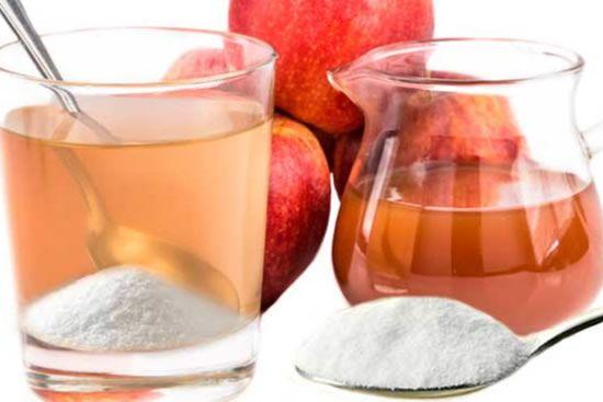 ¡El agua con vinagre de manzana y bicarbonato, un milagro para su salud!